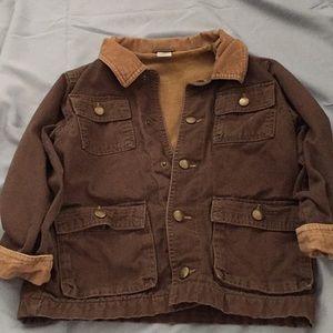 Gymboree 5-6 Brown Jacket
